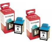 Lexmark 16G0093 Hi-Resolution Inkjet Cartridge, Twin Pack 17G0050 printer supplies by Lexmark