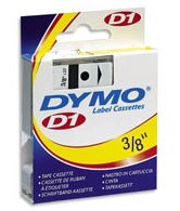 Dymo 41913 Label Machine Tape, 3/8 In, Black on White printer supplies by Dymo