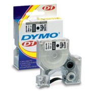 Dymo 45015 Label Machine Tape, 1/2 In, Red on White printer supplies by Dymo