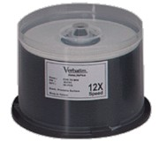 Verbatim 91665 DataLifePlus CD-RW 2X-4X 74 Minute 50/Pack Spindle printer supplies by Verbatim