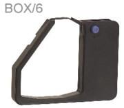 Nu-kote BM141 Black Nylon Ribbons, Box/6 printer supplies by Nu-Kote
