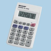 Sharp EL-233SB/GB Pocket Calculator printer supplies by Sharp