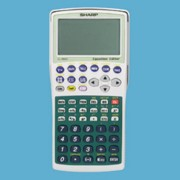 Sharp EL-9900C Portable Graphing Calculator printer supplies by Sharp
