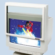 Spectrum GFX-C16/17 Contour Standard AntiGlare Glass Filter for 16-17 In. Monitor Screens printer supplies by Spectrum