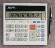 Sharp QS-2130 Portable Desktop Calculator printer supplies by Sharp