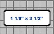 Seiko SLP-2RLH Smart Label Address Style Labeling Tape 1 1/8 x 3 1/2 printer supplies by Seiko