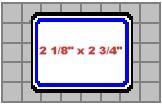 Seiko SLP-NB Name Badges, Blue, 2 1/8 x 2 3/4 In., 160 Labels/Roll printer supplies by Seiko