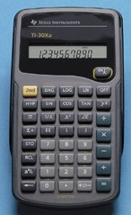 Texas Instruments TI-30XA Scientific Calculator printer supplies by Texas Instruments