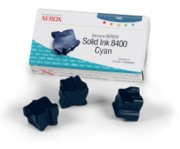 Xerox 108R00605 Solid Ink 8400 Cyan Ink Sticks, Box/3 printer supplies by Xerox