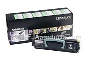 Lexmark 12A8400 Black Toner Cartridge printer supplies by Lexmark