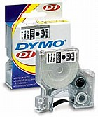 Dymo 16955 Label Machine Tape, 1/2 In, Black on White, Poly Coat printer supplies by Dymo