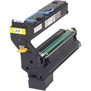 Konica Minolta 1710602-006 Yellow Toner Cartridge printer supplies by Konica