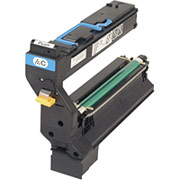 Konica Minolta 1710602-008 Cyan Toner Cartridge printer supplies by Konica