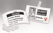 Dymo 30856 Nonadhesive Name Badges for Label Printers, 250/Roll printer supplies by Dymo