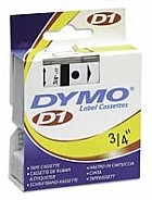 Dymo 45808 Label Machine Tape, 3/4 In, Black on Yellow printer supplies by Dymo