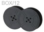Premier 5-1022 Black Nylon Ribbons, Replaces OkiData 52100701, Box/12 printer supplies by Okidata