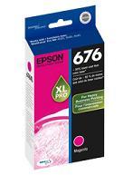 Genuine Epson T676XL320 Magenta Ink (aka T676XL Magenta) printer supplies by Epson