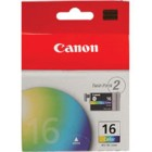 Canon 9818A003 Color Ink Cartridges, Pack/2 (BCI-16) printer supplies by Canon