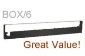 Best Ribbon BC453 Nylon Black Printer Ribbons, Box/6 printer supplies by Best Ribbon