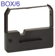Nu-Kote BM150 Black Nylon Printer Ribbon, Box/6 printer supplies by Nu-Kote