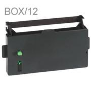 Nu-Kote BM304 Black Nylon POS Ribbons, Box/12 printer supplies by Nu-Kote
