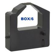 Nu-kote BM358 Black Nylon Printer Ribbons, Box/6 printer supplies by Nu-Kote
