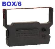 NuKote BR337 Black/Red POS Ribbons, Box/6 printer supplies by Nu-Kote