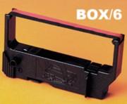 Nu-Kote BR501 Black/Red Ribbons, Box/6 printer supplies by Nu-Kote