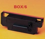 Citizen IR51 Red/Black Nylon POS Ribbons, Box/6 printer supplies by Citizen