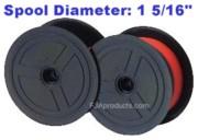 Nukote BR80C Calculator Ribbon, Black/Red, Nylon printer supplies by Nu-Kote
