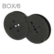 Best Ribbon BS386 Black Nylon Ribbons, Box/6 printer supplies by Best Ribbon