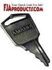 Amano Time Clock Key - Amano C459151 printer supplies by Amano