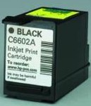 HP C6602A Black POS Print Cartridge printer supplies by HP