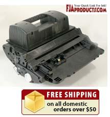 HP CC364X Black Print Cartridge HP 64X printer supplies by HP