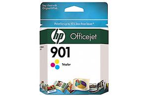HP 901 Color InkJet Cartridge - HP CC656AN printer supplies by HP