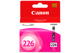 Genuine Canon CLI226 Ink Cartridge (CLI-226M) printer supplies by Canon