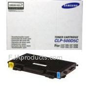 SamSung CLP-500D5C/XAA Cyan Copier Toner printer supplies by SamSung