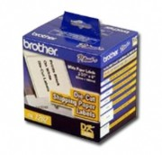 Brother DK1202 White Shipping Paper Labels, Roll/300 printer supplies by Brother