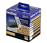 Brother DK1203 White  File Folder Labels, Roll/300 printer supplies by Brother