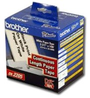Brother DK2205 Continuous Length Paper Tape, 100 Feet printer supplies by Brother