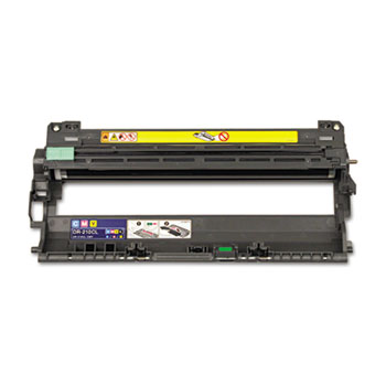 Genuine Brother DR210CL Drum Unit (Brother DR-210) printer supplies by Brother