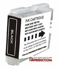 Brother LC51 Black Ink Cartridge printer supplies by Brother