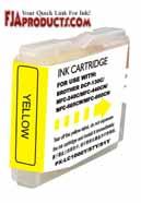 Brother LC51 Yellow Ink Cartridge printer supplies by Brother