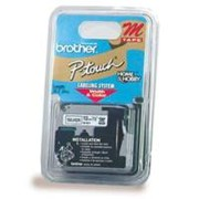 Brother M831 1/2 In. Black On Gold Supply Tape printer supplies by Brother