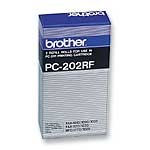 Brother PC-202RF Thermal Fax Rolls, Box/2 printer supplies by Brother