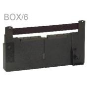 Nu-kote PM275 Black Nylon POS Ribbons, Box/6 printer supplies by Nu-Kote