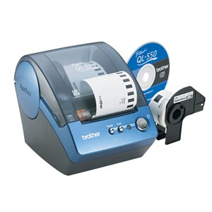 Brother QL500 / QL550 Label Maker printer supplies by Brother