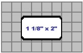 Seiko SLP-MRL Multipurpose Labels, 1 1/8 x 2 In., 2 Rolls/Box printer supplies by Seiko