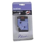 Brother TC5001 1/2 In. Black On Red Supply Tape printer supplies by Brother