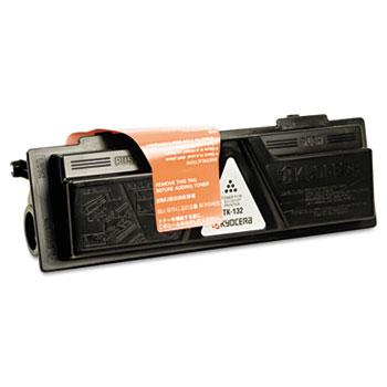 Kyocera Mita TK-132 Black Toner Cartridge AKA TK132 printer supplies by Kyocera-Mita